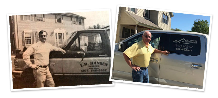 Lee Hansen, past and present